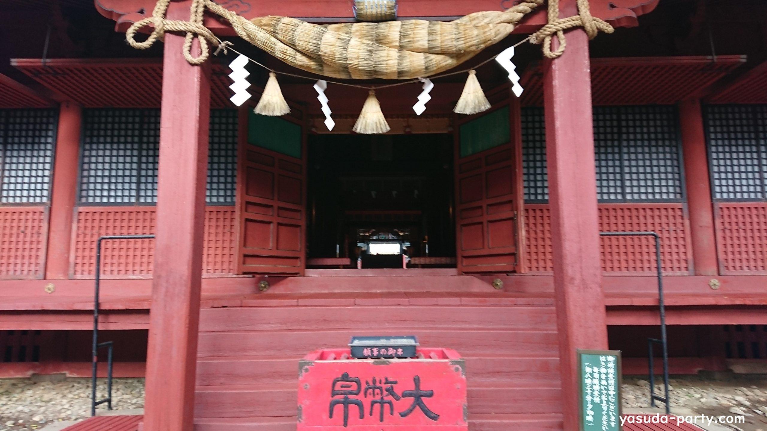 岩木山神社拝殿