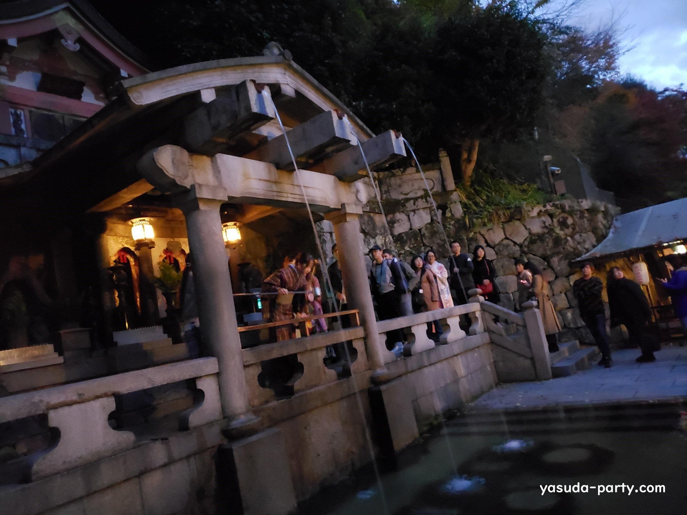 清水寺羽音の滝