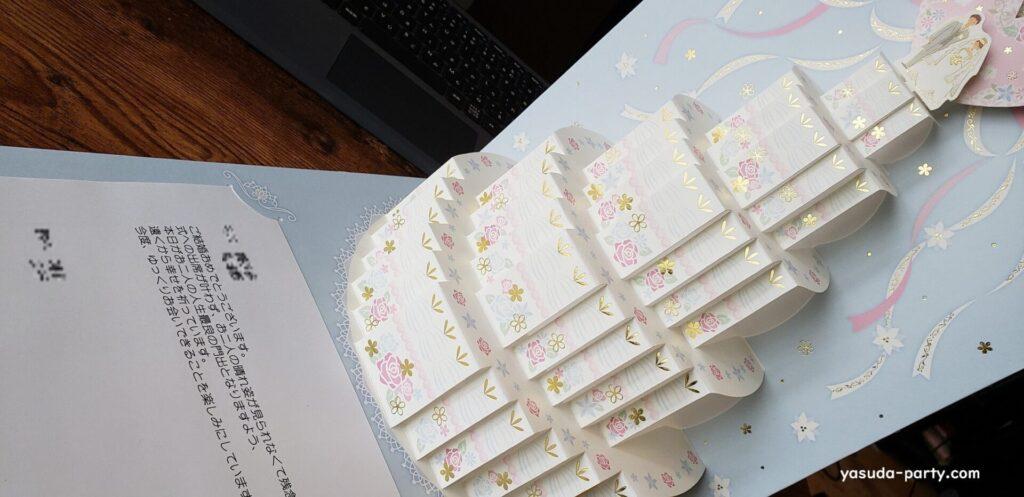 祝電ケーキ型