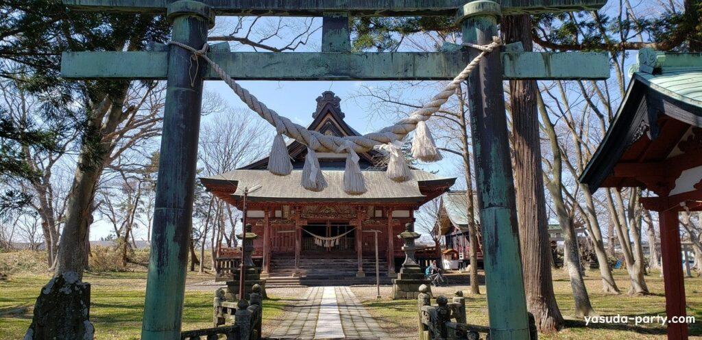 日吉八幡神社鳥居②