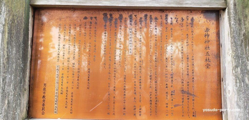 赤神神社由緒