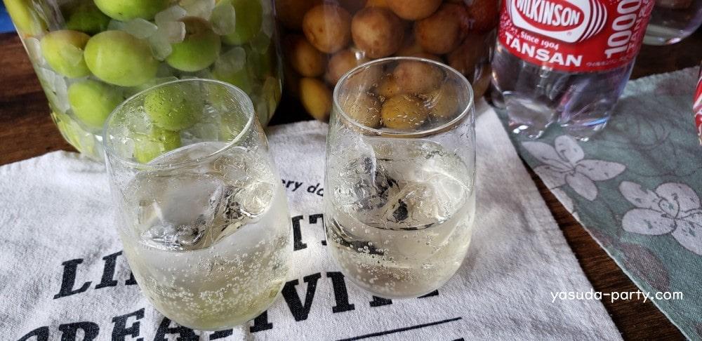 2種類の梅酒