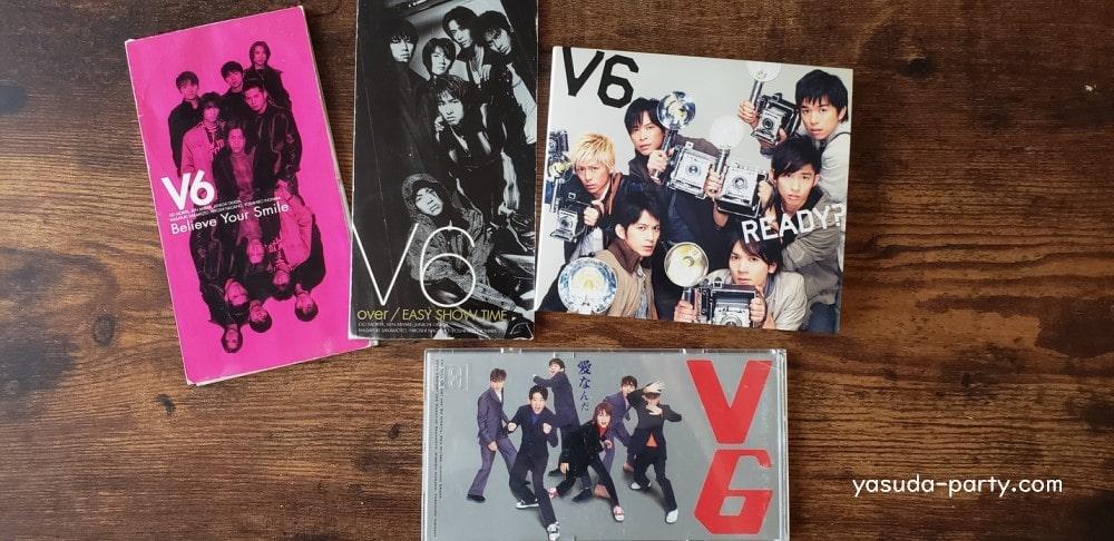 V6のCD色々